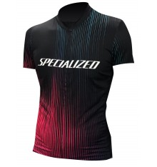 SPECIALIZED maillot velo manches courtes femme RBX Full Custom Furious édition 2021