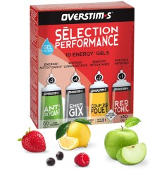 overstims Performance Selection 10 gels 30 g box