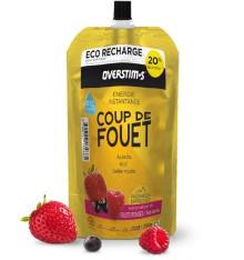 OVERSTIMS gel énergétique Coup de fouet liquide - Fruits Rouges - Éco-recharge 250gr