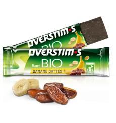 OVERSTIMS Barre Énergétique Bio Banane Dattes