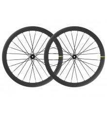 Paire de roues velo route vitesse MAVIC Cosmic SLR 45 Disc