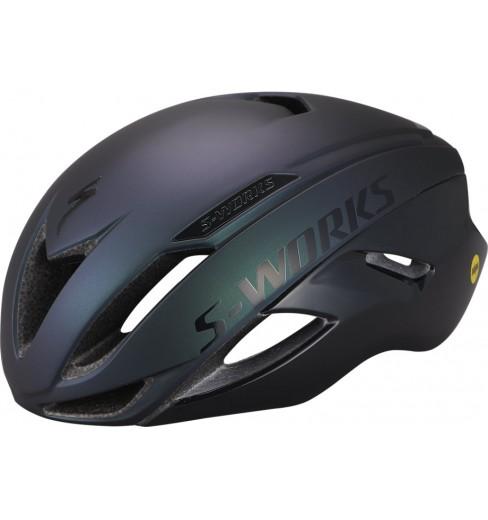 SPECIALIZED S-Works Evade II ANGi road helmet - Satin Chameleon / Gloss Black