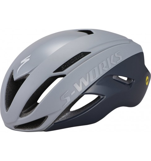 SPECIALIZED S-Works Evade ANGi road helmet - Cool grey / Slate