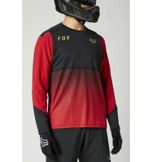 FOX RACING maillot manches longues FlexAir Rouge Chili 2021