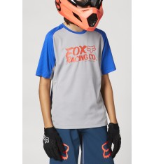 FOX RACING maillot manches courtes enfant YOUTH DEFEND 2021