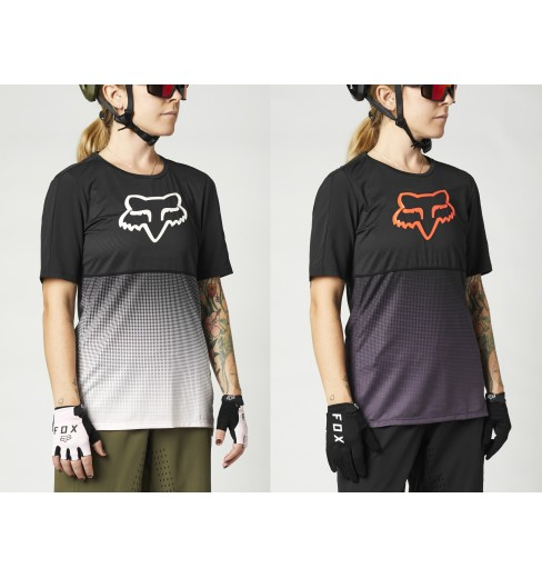 Scott Trail MTN DRI 70 Short Sleeve Womens Cycling Jersey Orange