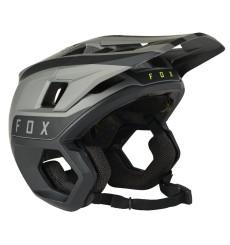 FOX RACING 2021 DROPFRAME PRO TWO TONE BLACK Enduro helmet