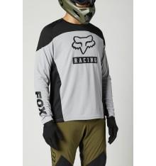 FOX RACING maillot manches longues DEFEND Gris/Noir 2021