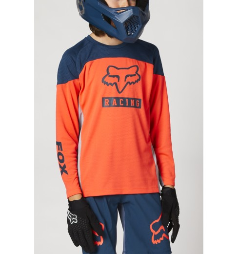 Nouveau Sans Original balises Fox Racing Kids épissées jusqu /'à manches courtes T-Shirt Vert Taille S 3//4 ans