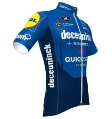 Maillot manches courtes cycliste TEAM DECEUNINCK QUICK STEP FLOORS 2021