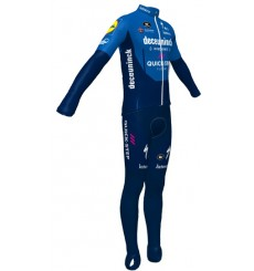2021 DECEUNINCK QUICK STEP FLOORS WINTER CYCLING OUTFIT