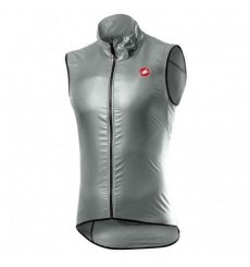 CASTELLI Aria grey cycling windproof vest 2021