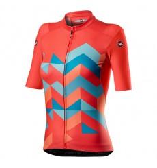 CASTELLI maillot manches courtes femme UNLIMITED Rose 2021