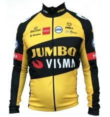 TEAM JUMBO VISMA men's long sleeves jersey 2021