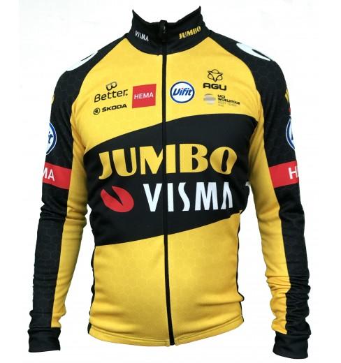 TEAM JUMBO VISMA maillot velo manches longues 2021