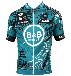Maillot cycliste manches courtes RACE B&B HOTELS P/B KTM 2021
