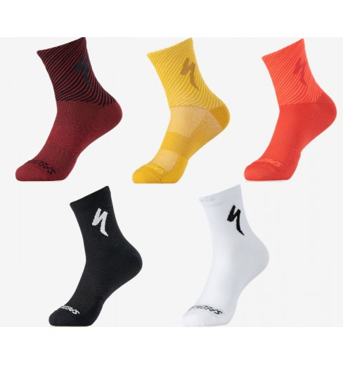 SPECIALIZED chaussettes vélo été Soft Air Mid - 10 cm - 2021