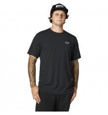 FOX RACING t-shirt manches courtes BURNT TECH Noir 2021
