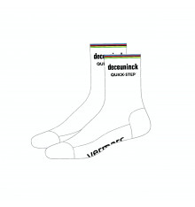 DECEUNINCK QUICK STEP FLOORS World's Champion cycling socks 2021