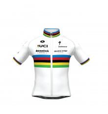 DECEUNINCK QUICK STEP FLOORS SP.L AERO World's Champion kids's cycling jersey 2021