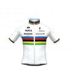 Maillot vélo enfant Champion du Monde SP.L AERO DECEUNINCK QUICK STEP FLOORS 2021