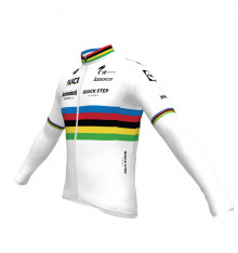 Maillot vélo manches longues Champion du Monde DECEUNINCK QUICK STEP FLOORS 2021