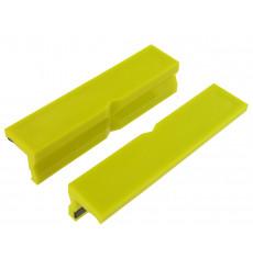 Set of VAR 2 nylon jaws 100mm for workshop bench