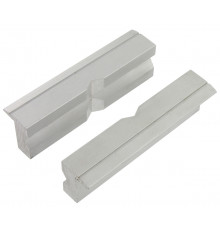 Set of VAR 2 aluminium jaws 100mm for workshop bench