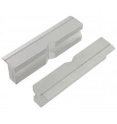Mors de protection aluminium VAR pour étau pro 100 mm