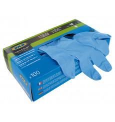 VAR Box 100 nitrile mechanic's gloves - size M