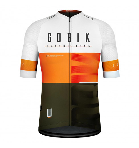 GOBIK CX Pro FACTORY TEAM 5.0 limited edition unisex short sleeve cycling jersey 2021