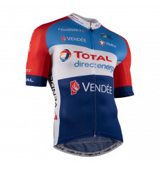 TOTAL DIRECT ENERGIE maillot vélo manches courtes 2021