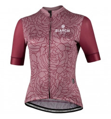Maillot vélo manches courtes femme BIANCHI MILANO Sosio 2021
