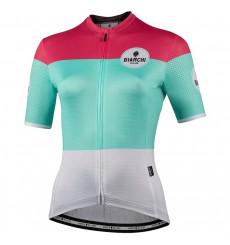Maillot vélo manches courtes femme BIANCHI MILANO Gordona 2021