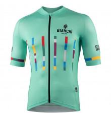 Maillot vélo manches courtes BIANCHI MILANO Fanaco 2021