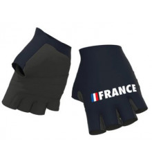 EQUIPE DE FRANCE short cycling gloves