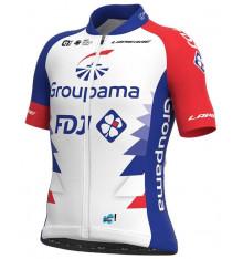 GROUPAMA FDJ maillot vélo manches courtes enfant 2021