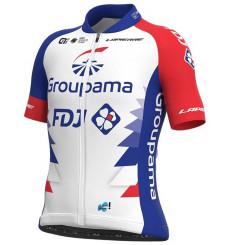 GROUPAMA FDJ junior short sleeve jersey 2021