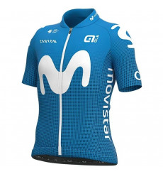 MOVISTAR kid's short sleeve jersey 2021