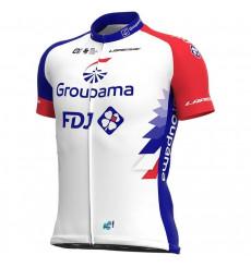 GROUPAMA FDJ men's Replica short sleeve jersey 2021