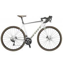 SCOTT Addict 20 DISC pearl white road bike 2021