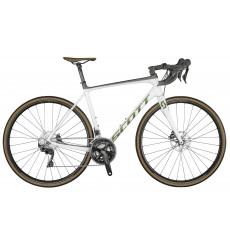 Vélo route SCOTT Addict 20 DISC pearl white 2021