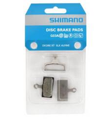 Plaquettes de freins à disque VTT SHIMANO G03A résine