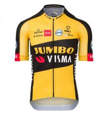 TEAM JUMBO VISMA maillot vélo manches courtes Premium Aero 2021