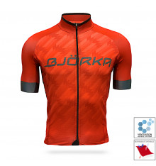 BJORKA maillot vélo manches courtes Team Pro 2021 Rouge