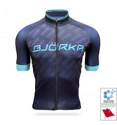BJORKA Team Pro 2021 Blue short sleeve jersey