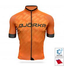 BJORKA Team Pro 2021 Orange short sleeve jersey