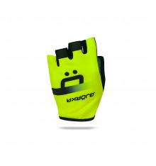 BJORKA ISOARD 2021 black / yellow summer cycling gloves