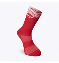 BJORKA TEAM 2021 red summer cycling socks