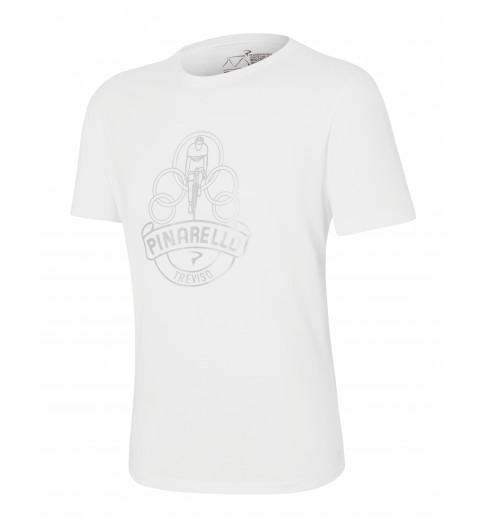 PINARELLO Heritage Logo white t-shirt 2021